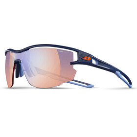 Julbo Aero Zebra Light Red Sunglasses Dark Blue/Blue-Multilayer Blue